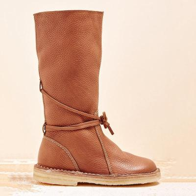 Fashion Warm Lace Up Winter Knee Boots