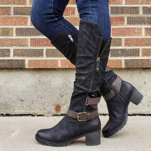 Women Comfortable Knee High Boots