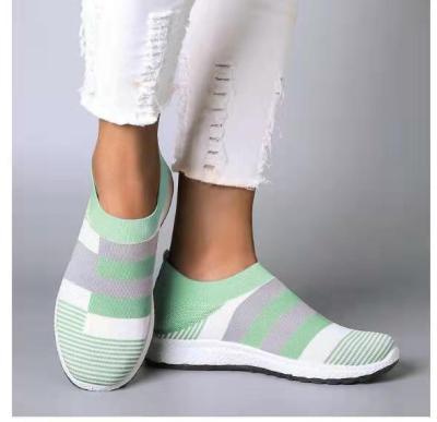 cuteshoeswearMCCKLE Women's Casual Vulcanized Shoes Woman Mesh Sneakers 2020 Women Knitted Flat Ladies Slip On Female Footwear Plus Size