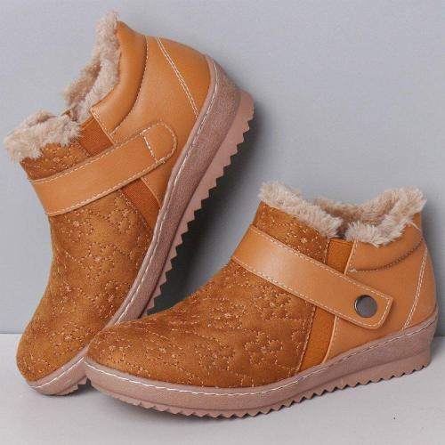 Low Heel Winter Daily Women's Shoes