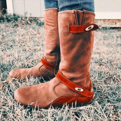 Suede Winter Daily Knee Boots