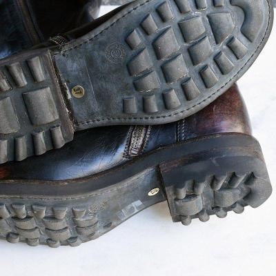 Buckle Vintage Pu Leather Low Heel Zipper Mid-Calf Boots