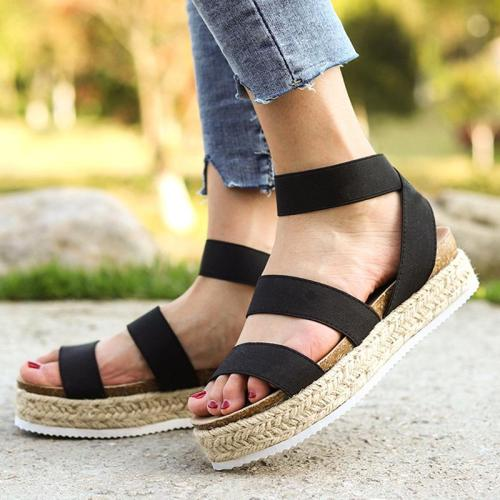 2019 Women Platform Sandals Plus Size Wedges Shoes For Women High Heels Sandals Summer Shoes Flip Flop Chaussures Femme