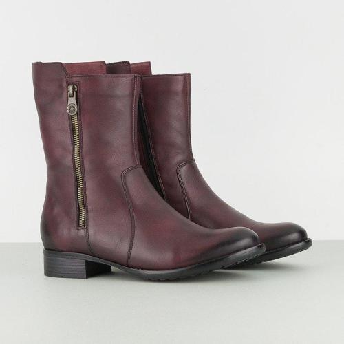 Women Zipper Casual Daily Boots