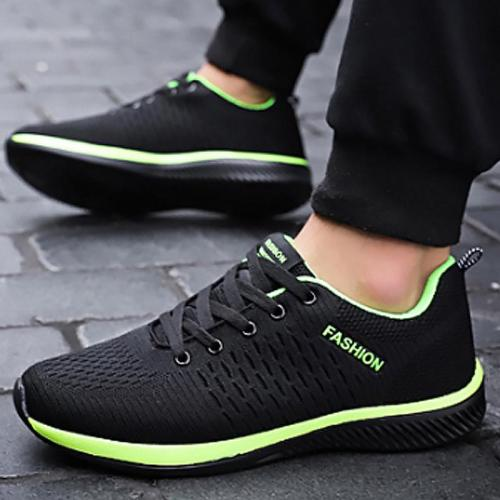 Women's Sneakers Plus Size 42-45 Breathable Walking Shoes Ladies Mesh Lace-Up Sneaker Woman Soft Footwear Zapatillas Mujer