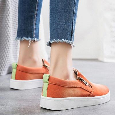 Slip On Casual Flats Canvas Loafers