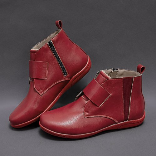 Women Winter Flat Heel Boots