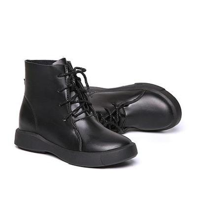 Women Martin Vintage Booties Casual Lace Up Shoes