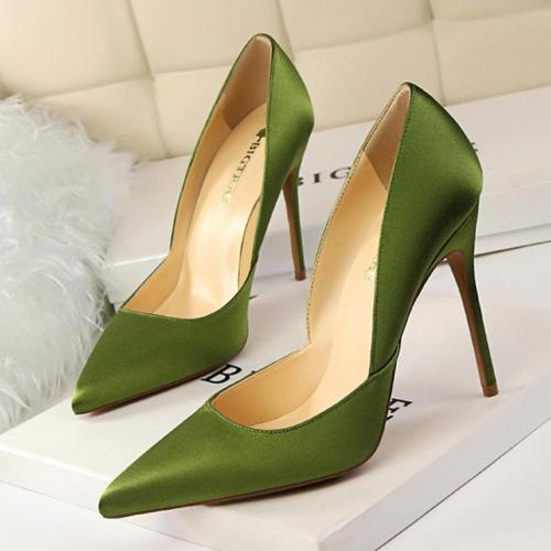 Sexy Pointed-Toe Slim Heels Wedding Party Shoes