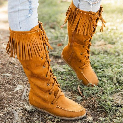 Fashionable Moccasin Boots