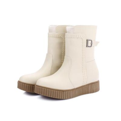 Women Shoes Flat Bottom Platform Short Boots