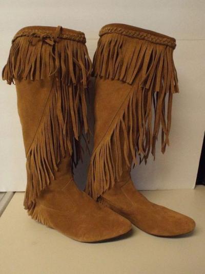 Flat Heel Daily Pu Boots