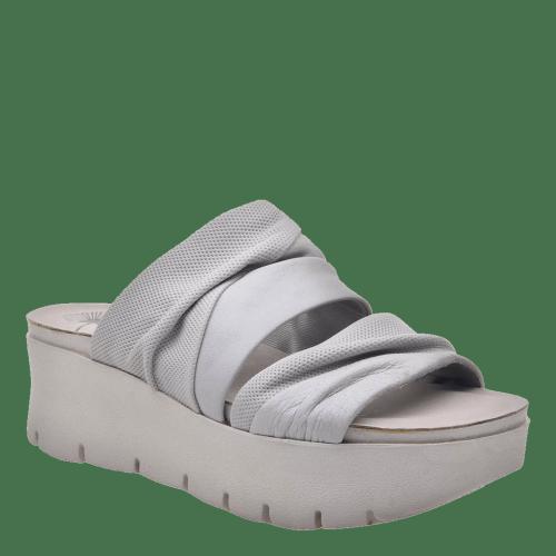 WEEKEND in DOVE GREY Wedge Sandals