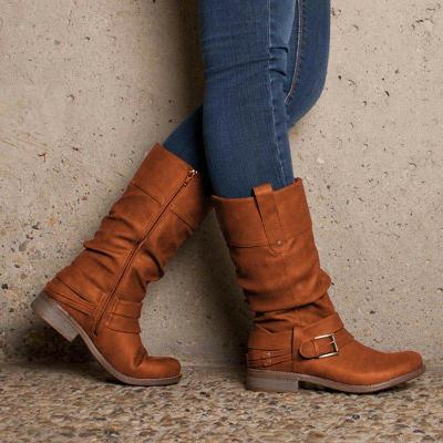Women's casual flat boots