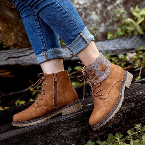 Ladies casual snow boots