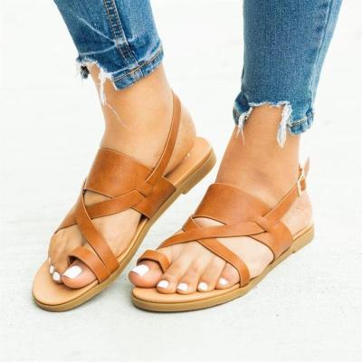 Cuteshoeswear CuteshoeswearLitthing  Summer Women Lady Fashion 2019 Flip Flop  Casual Flat Beach Open Peep Sandals Toe Sandals Gladiator Sandals