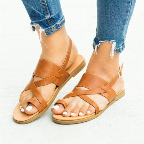 Cuteshoeswear CuteshoeswearLitthing  Summer Women Lady Fashion 2019 Flip Flop  Casual Flat Beach Open Peep Sandals Toe Sandals Gladiator Sandals