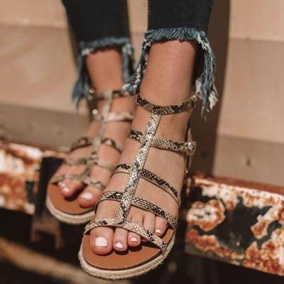Cuteshoeswear CuteshoeswearLitthing Print Women Sandals Wedges Shoes For Women Low Heels Sandals Summer Shoes Flip Flop Chaussures Femme Platform Sandals
