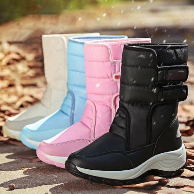 Women Winter Casual Warm Lining Snow Boots