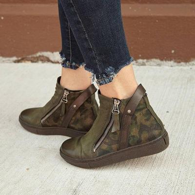 Green All Season Pu Boots