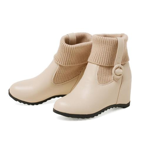 Autumn Winter Short Wedges Boots