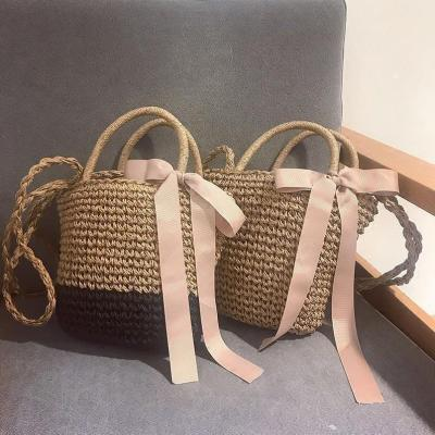 ?2018 Must Have Bow-Knot Straw Bag
