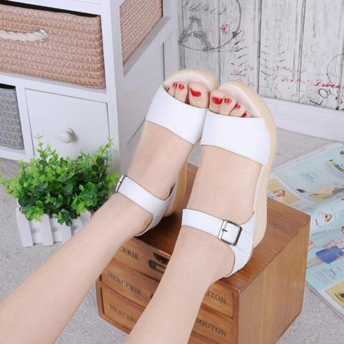 2019 Summer Women Shoes Beach Sandals Flat Soft Fashion Women Sandals Summer Ladies Shoes Thick Sole Non-slip A769