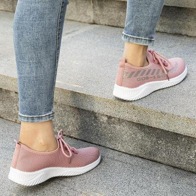 Women Plus Size Lace-Up Athletic Sneakers
