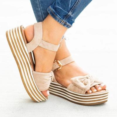 Cuteshoeswear CuteshoeswearLitthing Wedges Shoes Women Pumps Wedge Sandals Black High Heels Summer Shoes Flip Flop Chaussures Femme Platform Sandals