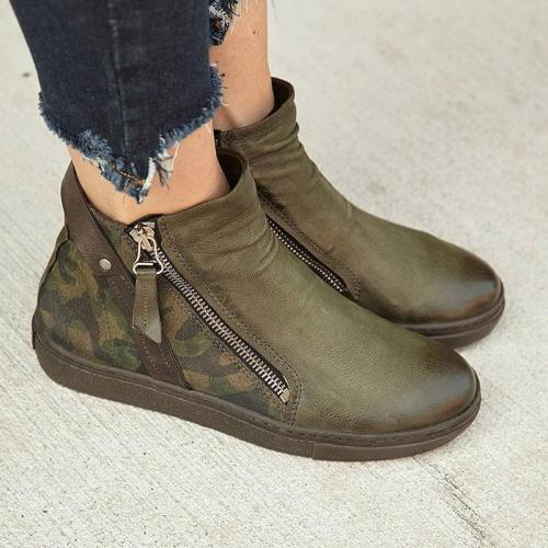 Green All Season Pu Boots