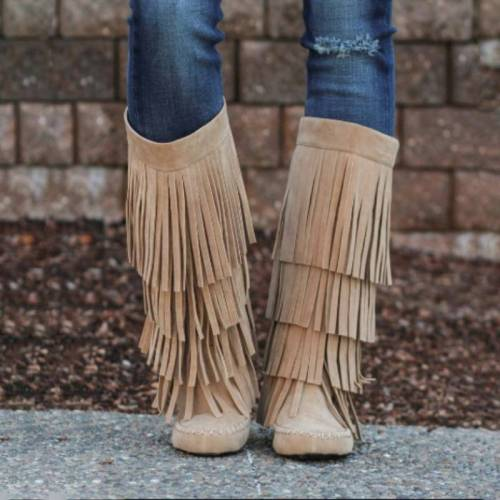 Tassel Leisure Daily Boots