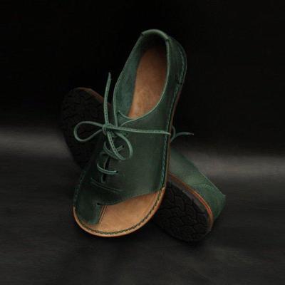 Pu Flat Heel Sandals