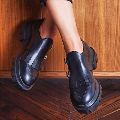 Tassel Slip On Platform All Season Loafers