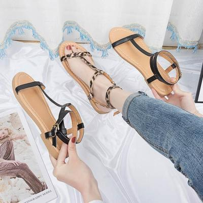 Summer casual shoes women sandals 2019 new fashion solid summer shoes sandals women shoes buckle ladies shoes chaussures femme