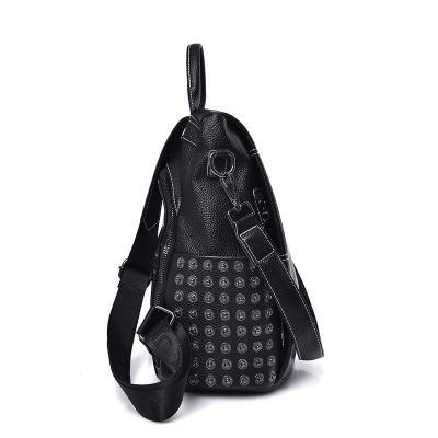 2020 New Women Leather Backpacks For Girls Sac a Dos Vintage Plaid Backpack Female Shoulder Bags Travel Bagpack Ladies Mochilas