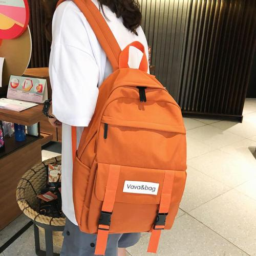 Cute Waterproof Buckle Backpack Women Fashion School Bags For Teenage Girl Nylon Backpacks Female Student book Bag Ladies Luxury
