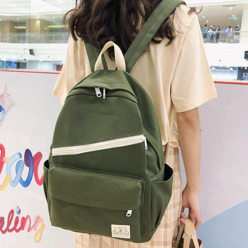Ladies Canvas Cute Backpack Women School Bags For Teenage Girls Harajuku Backpacks Kawaii Female Fashion Bag Book Student Luxury