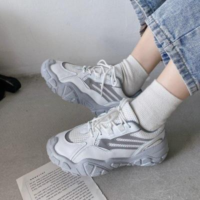 Woman Fashion Sneakers 2020 Platform Chunky Mesh Casual Shoes Ulzzang Designers Basket Female Breathable Vulcanized Shoes Women