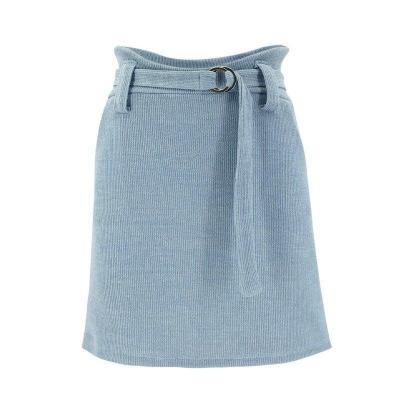 Summer Fashion Womens Bodycon Wet Look High Waist Solid Color Fashion Office Ladies Ladies Mini Pencil Skirt Dress