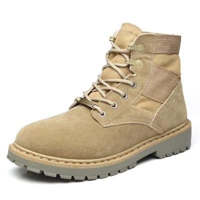 UPUPER Desert Tactical Military Army Boots Men Working Safty Shoes Combat Boots British Style Ankle Boots For Men Shoes