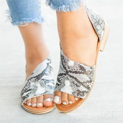 Women Sandals 2019 Fashion Summer Shoes For Women Low Heels Sandals Chaussures Femme Peep Toe Women Casual Shoes Woman Clog