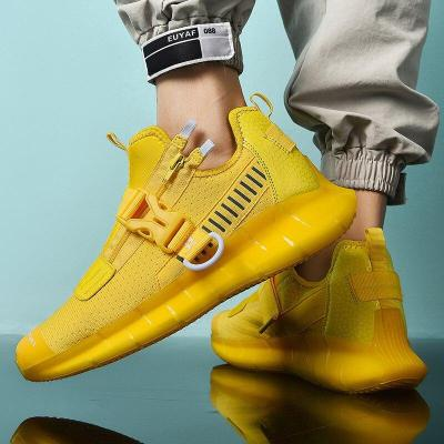 2020 Spring New Men Shoes Fashion Lightweight Men Casual Shoes Increased Comfortable Cool Walking Sneakers Man Tenis Masculino