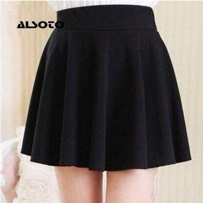 ALSOTO 2020 Winter and Summer Style Brand Women Skirt Elastic Faldas Ladies Midi Skirt Sexy Girl Mini Short Skirts Saia Feminina