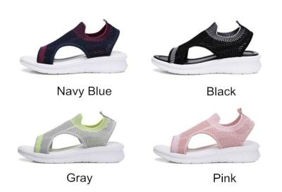 Women Sandals Breathable 2020 Summer Shoes Woman Platform Comfortable Sandals Ladies Flat Slingback Casual Sandalias SH050501