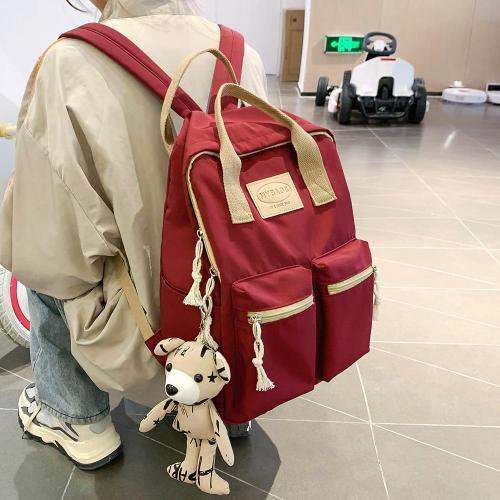Lady Nylon Cute Backpack Waterproof Women School Bag Teenage Girl Harajuku Backpack Kawaii Female Fashion Bag Luxury Book Travel