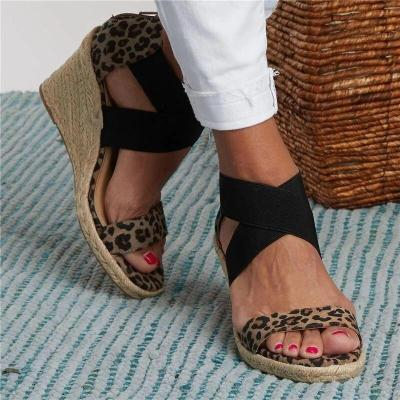 Women's sandals summer leather handmade ladies comfortable shoes mom sandals ladies summer shoes large size 43 sandals