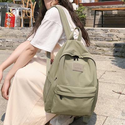 Student Female Fashion Backpack Cute Women School Bags For Girls Waterproof Nylon Kawaii Backpack Ladies Luxury Teenage Bag Book
