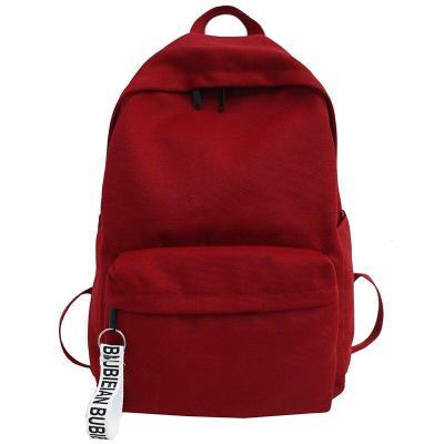 Fashion Student Female Backpacks Cute Women School Bag Teenage Girls Cotton Canvas Backpack Kawaii Ladies Luxury Bags Book Brand