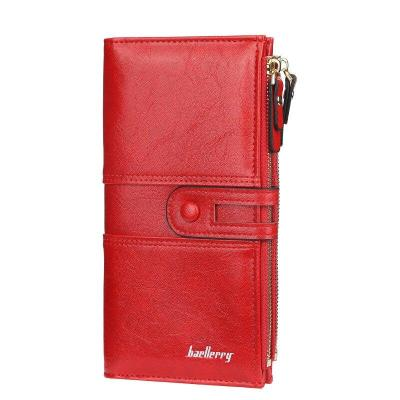 2021 Women Wallets Fashion Long Leather Top Quality Card Holder Classic Female Purse Zipper Brand Wallet For Women