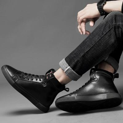 2020 Casual Leather Boots Genuine Leather Men Shoes Fashion Male Shoes Winter Ankle Boots Male Boots Winter Men Shoes